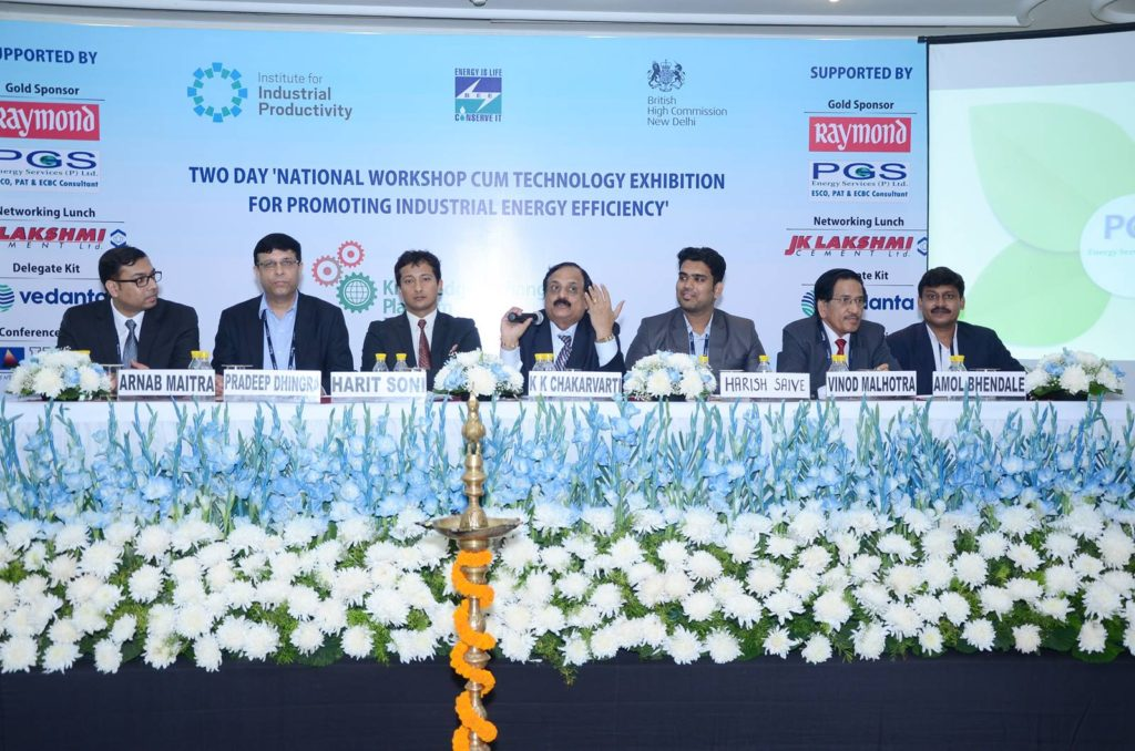 Shri K K Chakarvarti with the panelists of third technical session