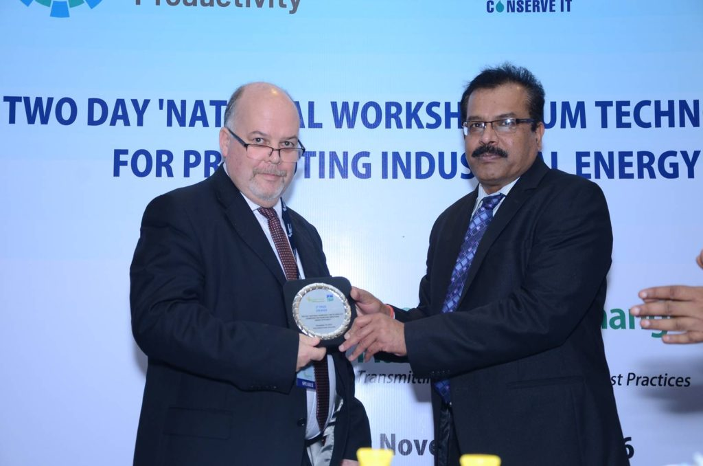 Speaker: 3rd Prize- Shri Richard Woosnam, Projects Manager, Fairport Engineering Limited, UK